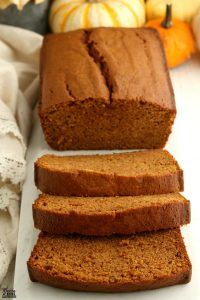 make ahead breakfast gluten free pumpkin bread