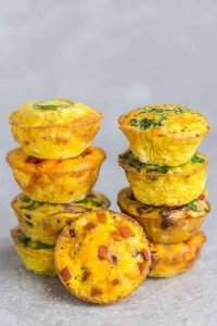 make ahead breakfast egg muffins