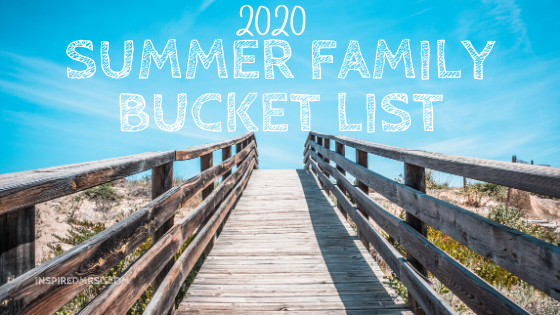 summer family bucket list
