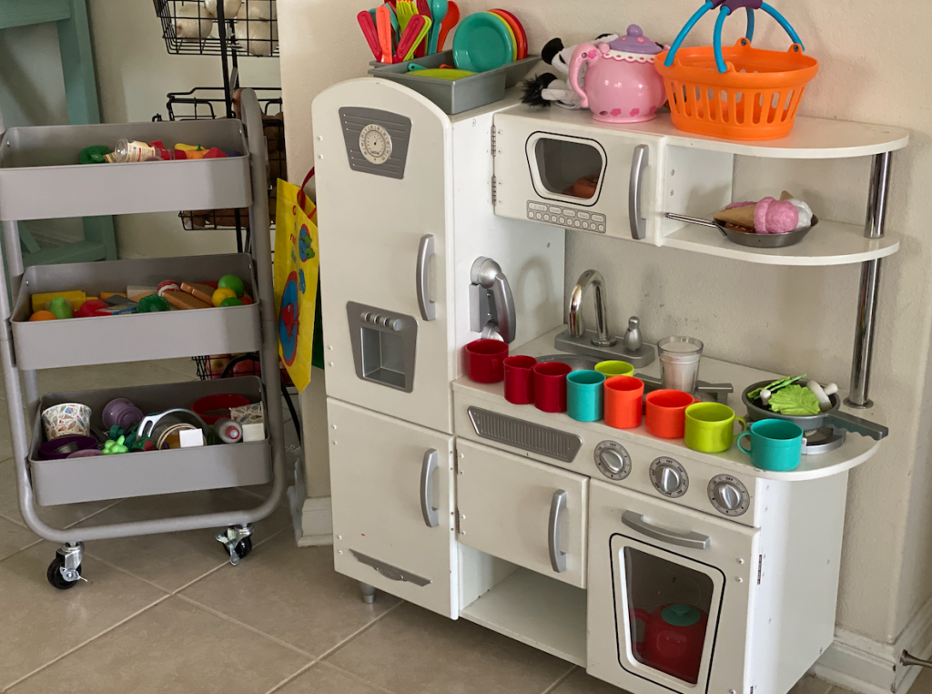 kitchen play area